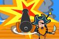 [海賊船船長大砲シューティング]Cannon Blast
