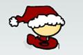 [サンタ帽をかぶったかわいいキャラのシューティングゲーム]Whack-A-Plane