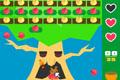[ブロック崩し+アクションゲーム]クマークのリンゴ農園