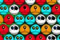 [シャレコーベの3マッチパズルゲーム]Shrunken Heads
