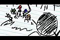 [反射神経キータイプゲーム]The Notebook Ninja