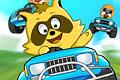 [あらいぐまたちのレーシングゲーム]Raccoon Racing
