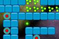 [緑の球をゴールまで導くイライラ系ゲーム]Space Trip