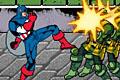 [キャプテンアメリカの格闘アクションゲーム]Captain America