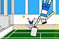 [グニャグニャキャラの無重力空間テニスゲーム]Ragdoll Tennis