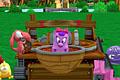[カタパルトに載せた動物を使ってブロックにぶつける3Dふっとばしゲーム]Bombs Away!