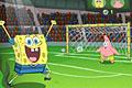 [スポンジボブのサッカーPK戦ゲーム]スポンジボブ・サッカーPK戦