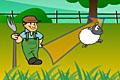 [白羊を蹴っ飛ばして黒羊を落下させる物理アクションパズルゲーム]Haystax