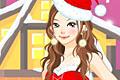 [サンタコスプレの着せ替えゲーム]Colourful Christmas