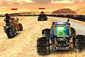 [乾いた荒野コースを疾走する3Dレーシングゲーム]Max Speed