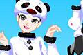 [パンダのコスプレ着せ替えゲーム]Cute panda dressup game