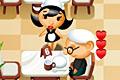 [コックとウェイトレスを操作してレストランを運営するゲーム]Momma's Diner