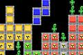 [緑な人をやっつけながら進めるテトリスゲーム]TetriShoot