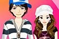 [男の子と女の子のバレンタインデー用着せ替えゲーム]Valentine Couple Dressup