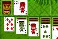 [ジャングル絵柄のソリティアゲーム]Tiki Solitaire