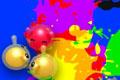 [キャラを潰して色を作り出すアクションパズルゲーム]Graffitis