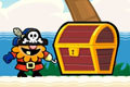 [お宝を集める陽気な海賊のアクションゲーム]Puke the Pirate
