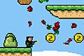 [モンスターの巣を破壊して進むドット絵アクションゲーム]Robin the Mercenary 2