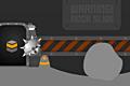 [トゲトゲヘルメットを被ったタイヤのアクションゲーム]IRON TURTLE