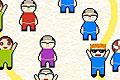 [トモダチをできるだけつなげるパズルゲーム]トモダチチェーン