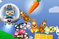 [捕らえられているウサギちゃんたちを助け出すアクションパズルゲーム]Rabbit Rustler