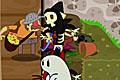 [アメをぶつけてオバケを追い返すハロウィンアクションゲーム]Halloween Sugar Rush