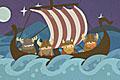 [バイキングの間違い探しゲーム]Stranded Viking