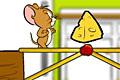 [橋をつくってネズミのジェリーを渡らせるパズルゲーム]Tom and Jerry. Rig-A-Bridge