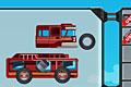 [車のパーツを組み合わせ目的地まで到着させるカーパズルゲーム]Crazy Craft