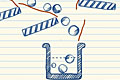 [ラインを引いてボールを誘導させる物理パズルゲーム]Doodle Blast