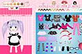 [4つのファッションスタイルを選べる着せ替えゲーム]4 style chibi dress up game