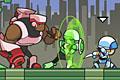 [3人のキャラを切替えながら進むアクションゲーム]Galactic Commandos