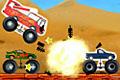 [トラックをつまんで破壊するアクションゲーム]Monster Trucks Attack