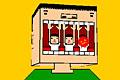 [バレーのブロックで風邪菌をブロックするゲーム]カゼブロック