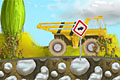 [トラック荷台に積み込んだ鉱石を運ぶアクションゲーム]Rock Transporter