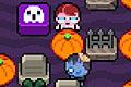 [カボチャをプッシュして敵を倒すペンゴ的アクションゲーム]Graveyard Maniacs