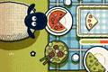 [ヒツジ君達にピザを分け与えるアクションゲーム]Shaun's Big Lunch