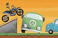 [障害物を乗り越えゴールを目指すバランスバイクゲーム]Bike Champ 2