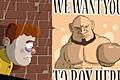 [弱虫男がボクサーになる間違い探しゲーム]The Boxer