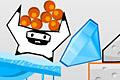 [ブロックを消してキャラクターたちを地面に落下させる物理パズルゲーム]Robolander