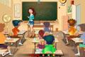 [ナンシー先生にいたずらしちゃうゲーム]Naughty Classroom