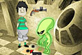 [エイリアンのいる部屋からのPC脱出ゲーム]Doctor KU – the alien room
