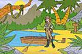[島のお宝を見つけだすポイントクリックアドベンチャーゲーム]Treasure of Big Totem 1