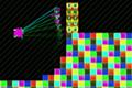 [フック付きワイヤーを使って進むアクションゲーム]Give Up; Robot