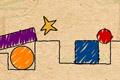 [星をゲットできるようボールを誘導する物理パズルゲーム]Milo Physics