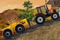 [トラクターでいろんなモノを牽引していくカーバランスゲーム]Tractor Mania