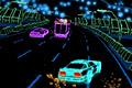 [レトロチックネオンなカーレーシングゲーム]Neon Race