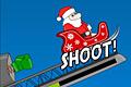 [ソリに乗ったサンタの吹っ飛ばしゲーム]Turbo Santa