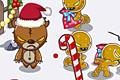 [邪悪なおもちゃからクリスマスプレゼントを守り抜くアクションゲーム]Gift Keeper