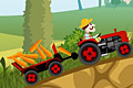 [収穫した農作物をトラックで運搬するバランスカーゲーム]farm express 2